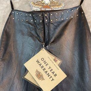 NWT Harley Davidson Leather Pants